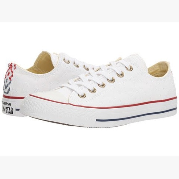 c2ea1421181121 Converse All Star Festival Star Embroidered Shoes